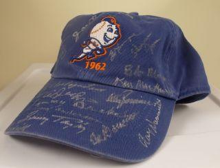 New York Mets Team Signed Hat Cap 19 AUTO s Clem Labine Craig w COA