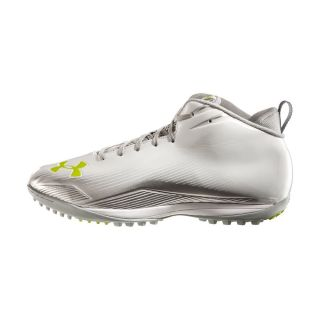 Mens Under Armour Nitro III Mid Cut Molded Lacrosse Turf Shoes