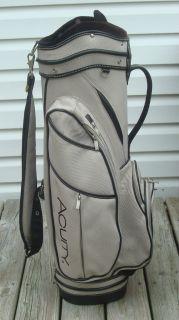 Acuity Golf Cart Bag Ladies Very Nice