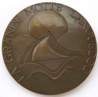 La Grande Motte Languedoc France Large Bronze Medal