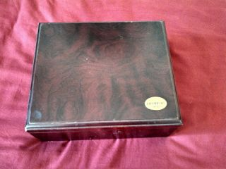 Thompson and Co Inc 1915 Vintage Cigar Wood Box Case