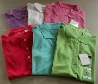Lady Hathaway Golf Polo Shirt Cotton Stretch s M