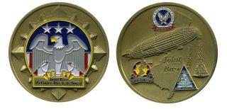 Joint Base Dix McGuire Lakehurst Challenge Coin