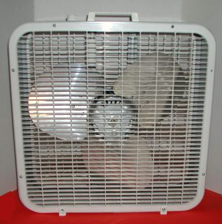 Lakewood P 25 Electric 3 Speed 20 inch Box Fan with Box in Nice
