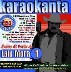 Karaokanta Kar 4353 Al Estilo de Lalo Mora I Spanish CDG