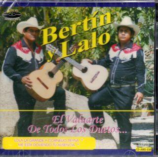 Bertin Y Lalo  El Valuarte de Todos Los Duetos