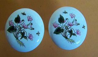 Lillian Vernon Botanical 2 Drawer Pulls Knobs Doors