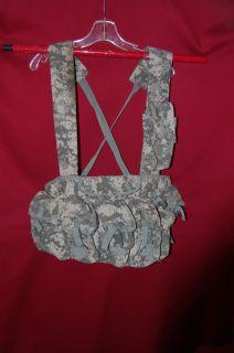Army ACU Digital Camo Vest Waist Pack w IFAK Medical Hunting Camping