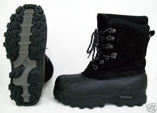 Lacrosse 600105 Mens Garrison Insulated Pac Boot Black Sizes 9 10 11
