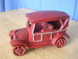 Vintage Cast Iron Model T Ford Car