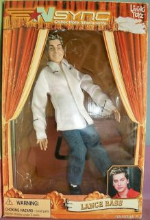 Marionette Doll * Living Toyz 2000 * Lance Bass * USED in Original Box