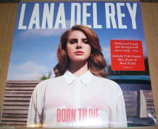 Lana Del Rey Born to Die LP 2012 Polydor Interscope Vinyl Album New