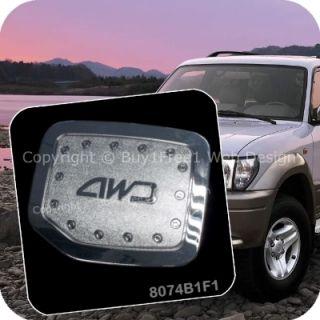 Toyota Land Cruiser Prado FJ90 Chrome Fuel Tank Lid Trim Cover Auto