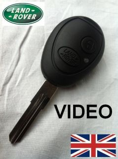 Land Rover Discovery TD5 V8 Replacement Ignition Key inc Blank New