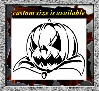 Jack O Lanter Halloween Airbrush Stencil Template Paint Wall T Shirt