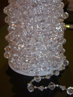 Wedding Garland Hanging Acrylic Crystal Gem Centerpiece Large Gemstone