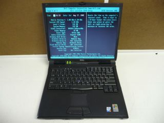 Dell Latitude C840 Laptop LCD WiFi Chassis XP Pro COA Disk Incomplete