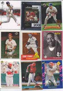 Cardinals 9 Lot 2 Albert Pujols SP Roy Lankford No