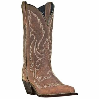 Laredo 52094 Womens Saucy Brown Western Boots Size 8 M