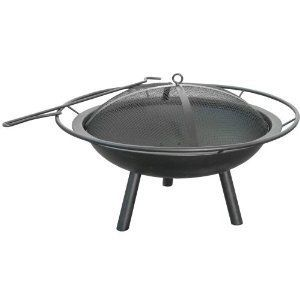 Landmann USA Halo Fire Pit Camping Camp Outdoor Pool Campfire Portable