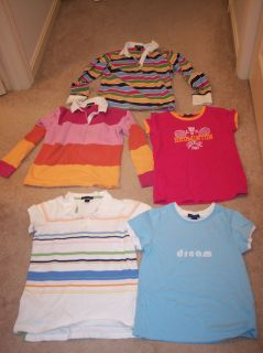 Girls Clothes Lot Lands End Girls Shirts Size Large Girls 14 Polo Tops
