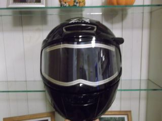 Z1R Venom Snow Snowmobile Helmet Electric Shield Black L Large