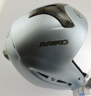 FORERUNNER SPECIAL Snow Ski Snowboard Helmet 58cm Large Metal Ice NEW