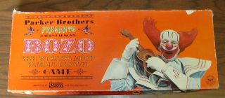 Larry Harmons Bozo The Clown Parker Brothers Board Game