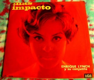 Enrique Lynch mas Impacto LP Peru Latin Jazz