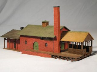 Very Nice Large Factory Building Warehouse HO Scale