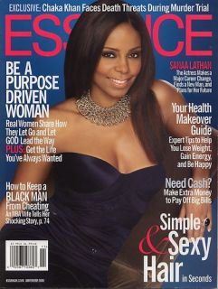 Essence Magazine Sanaa Lathan November 2006