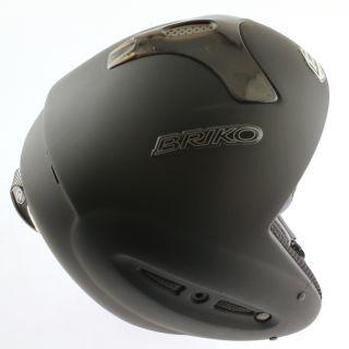 Fr Special Snow Ski Snowboard Helmet Matte Black 58cm Large New
