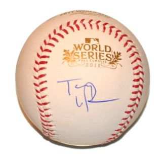 Tony LaRussa Signed 2011 World Series Baseball WS Cardinals Champs