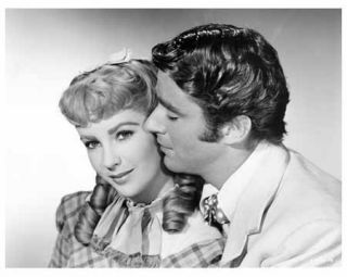Little Women Still Elizabeth Taylor and Peter Lawford D610