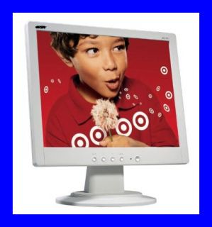 17 LCD Flat Panel Monitor   White   REFURB / SPECIAL