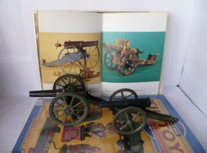 War Tin Field Gun Cannon Marklin or Hausser Germany Tole Latta Blech
