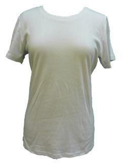 Laura Ashley Active White T Shirt Size XL