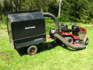 Lawn and Leaf Vacuum Craftsman w Briggs Stratton 5 HP Engine