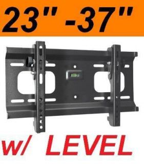 23 37 LCD LED HD TV Wall MOUNT w TILT LEVEL 32 27 24 27 28 30 33 34 36