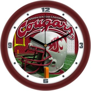 Washington State Cougars Logo Helmet Wall Clock