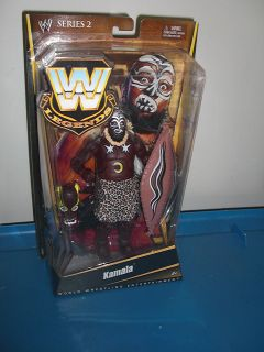Kamala Mattel Legends Wrestling Action Figure Toy WWE WWF WCW