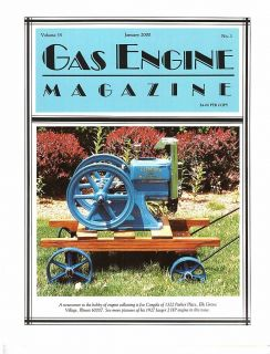 Co History of Silberzahn Gas Engine Company Le Roy Plow Company