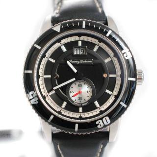 Bahama Mens TB1171 Swiss Leather Island Sport Strap Watch