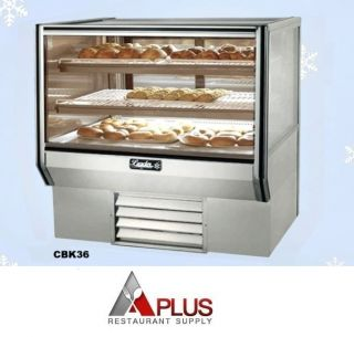 New Leader Dry Bakery Pastry Display Case 36 Counter Model