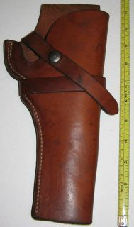 Nice George Lawrence 1c Tan Leather Holster 22 Auto 502