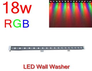 18W LED RGB Washer Wall Wash Light stage Linear bar outdoor lamp 85