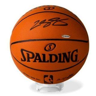 Lebron James Autographed Official NBA Spalding Basketball UDA