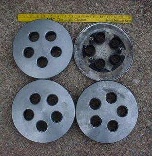 Mopar 80s 90s Styled Steel Wheel Center Caps Daytona LeBaron Shadow