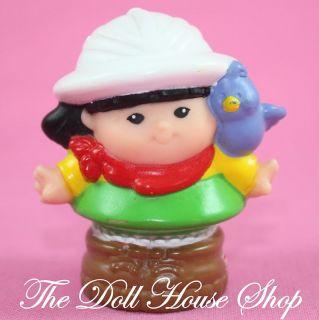 Sonya Lee Safari Asian Fisher Price Little People Doll