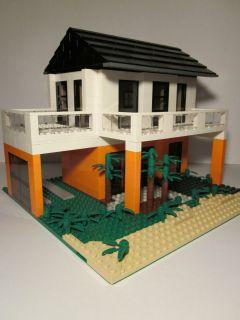 Lego City Custom Malibu Beach House